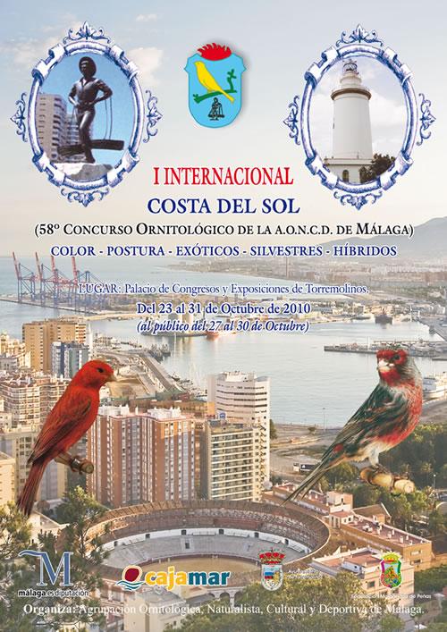 concurso ornitologico internacional costa del sol malaga