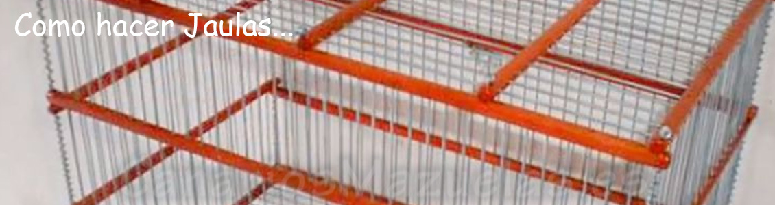 bricolaje. como hacer jaulas