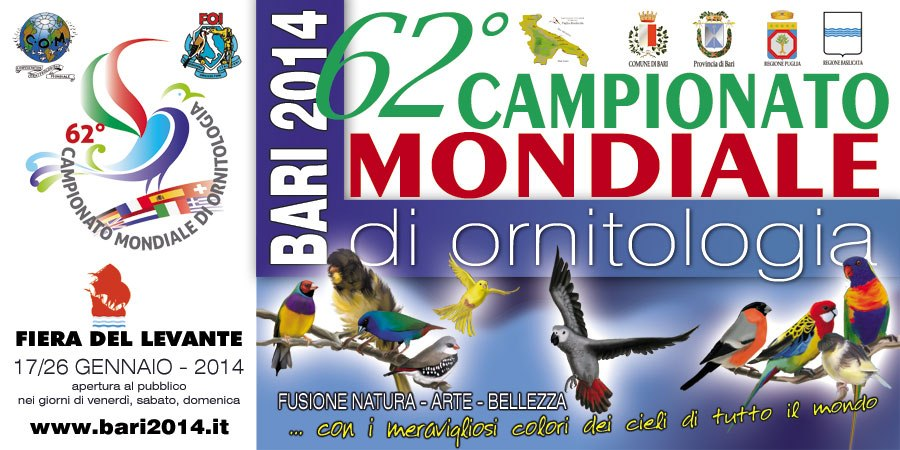 campeonato mundial de ornitologia 2014 bari italia