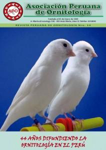 asociacion peruana de ornitologia portada